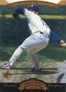1995 SP Baseball Hideo Nomo
