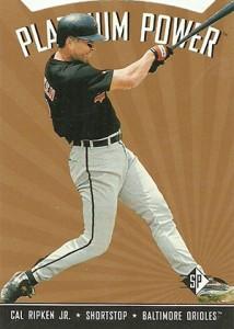 1995 SP Baseball Platinum Power Cal Ripken Jr