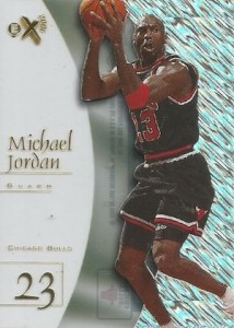 1997-98 Skybox EX2001 Basketball Base Michael Jordan