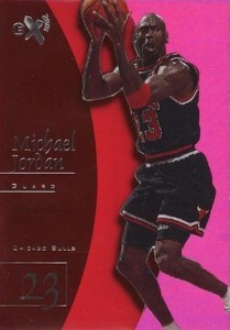 1997-98 Skybox EX2001 Basketball Essential Credentials Future Michael Jordan
