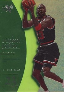 1997-98 Skybox EX2001 Basketball Essential Credentials Now Michael Jordan