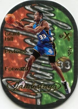 1997-98 Skybox EX2001 Basketball Jambalaya Grant Hill