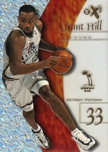 1997-98 Skybox EX2001 Basketball Sample Promo Hawaii Grant Hill