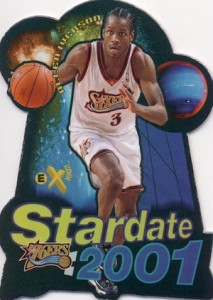 1997-98 Skybox EX2001 Basketball Stardate 2001 Allen Iverson