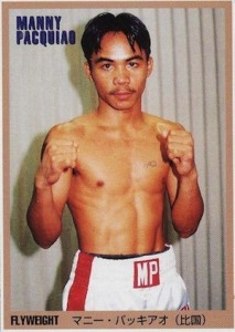 Top 10 Manny Pacquiao Boxing Cards 1