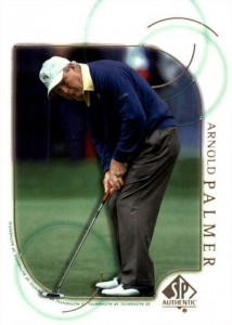 2001 SP Authentic Golf Base Arnold Palmer