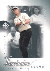 2001 SP Authentic Golf Cards 24