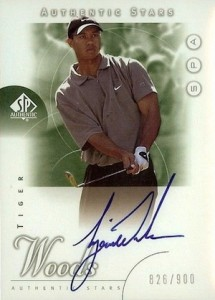 2001 SP Authentic Golf Cards 3