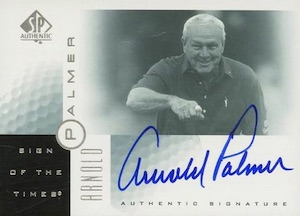 Top Arnold Palmer Golf Cards 7
