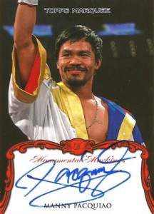 Top 10 Manny Pacquiao Boxing Cards 7