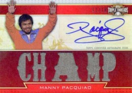 Top 10 Manny Pacquiao Boxing Cards 10