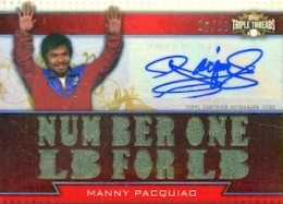 Top 10 Manny Pacquiao Boxing Cards 11