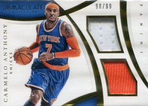 2014-15 Panini Immaculate Collection Basketball Cards 26