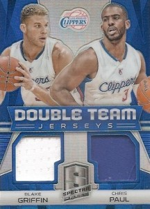 2014-15 Panini Spectra Basketball Double Team Jerseys
