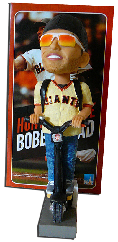 2014 Hunter Pence Scooter Bobblehead SGA