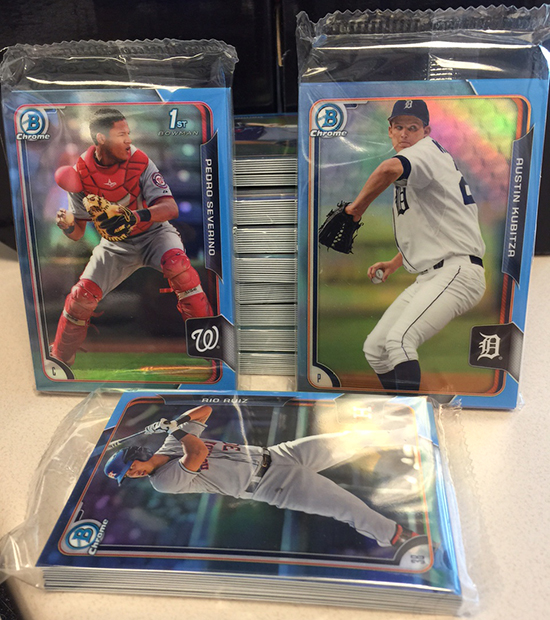 2015 Bowman Baseball Gets Twitter-Exclusive Refractors and Autographs 1