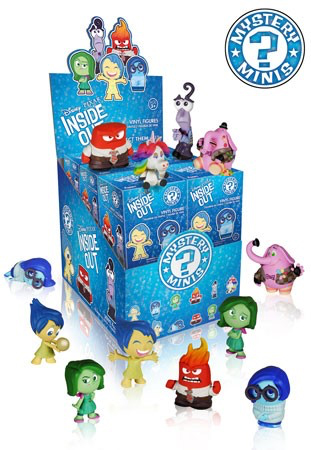 2015 Funko Inside Out Mystery Minis Case