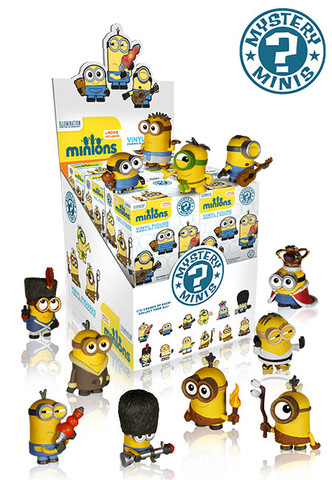 2015 Funko Minions Mystery Minis Blind Box Figures 2
