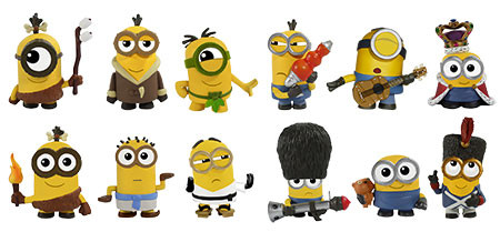 2015 Funko Minions Mystery Minis Lineup