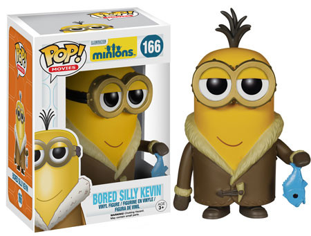 2015 Funko Pop Minions 166 Bored Silly Kevin