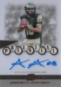2015 Leaf Clear Football Potential Greyson