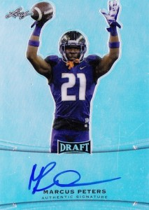 2015 Leaf Metal Draft Autograph Marcus Peters
