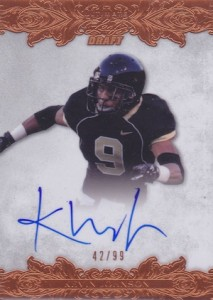 2015 Leaf Ultimate Draft Autographs Kevin Johnson