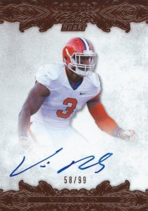 2015 Leaf Ultimate Draft Autographs Vic Beasley