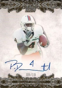 2015 Leaf Ultimate Draft Gold Autograph Phillip Dorsett