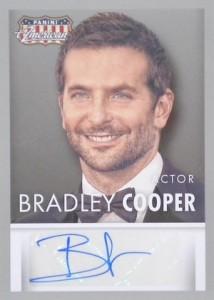 2015 Panini Americana Base Autograph Bradley Cooper