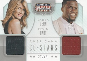 2015 Panini Americana Co-Stars Materials Hart Dern