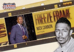 2015 Panini Americana Freeze Frame Nick Cannon