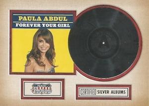 2015 Panini Americana Silver Certified Albums Paula Abdul