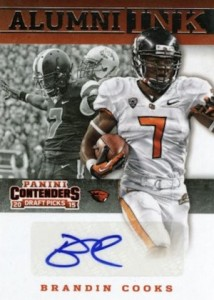 2015 Panini Contenders Draft Picks Football Cards 23