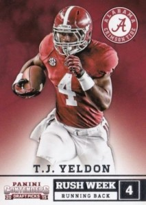 2015 Panini Contenders Draft Picks Football Cards 30