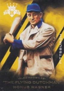 2015 Panini Diamond Kings Baseball Also Known As Honus Wagner
