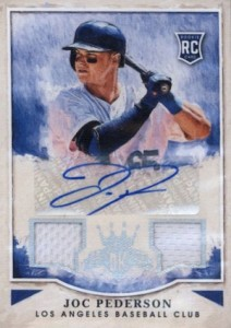 2015 Panini Diamond Kings Baseball Base Rookie Signatures Joc Pederson
