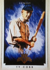 2015 Panini Diamond Kings Baseball Base Ty Cobb