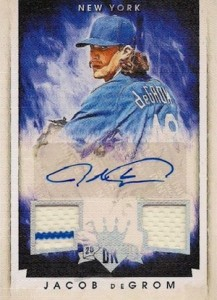 2015 Panini Diamond Kings Baseball Silver Signatures DeGrom