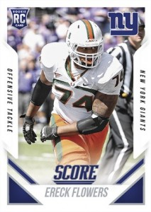 2015 Score RC Preview Ereck Flowers