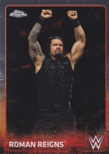 2015 Topps Chrome WWE Wrestling Cards 19