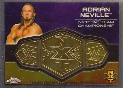 2015 Topps Chrome WWE Belt Plate