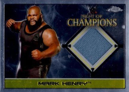 2015 Topps Chrome WWE Wrestling Cards 25