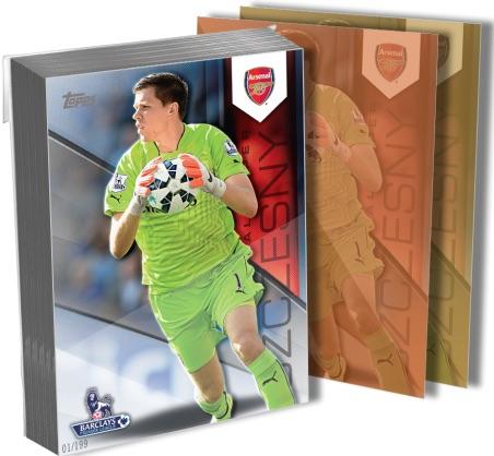 2015 Topps Premier Gold 5×7 Soccer Cards