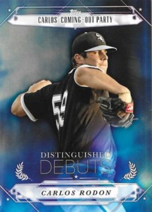 2015 Topps Pro Debut Baseball Distinguished Debuts Rodon