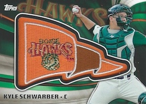 2015 Topps Pro Debut Baseball Pennant Patches