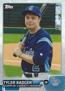2015 Topps Pro Debut Baseball Tyler Badger
