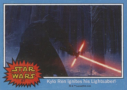 The First Star Wars: The Force Awakens Trading Cards Are Already Here 3