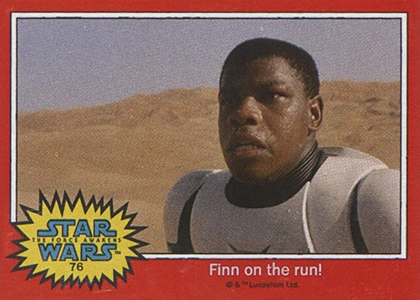 The First Star Wars: The Force Awakens Trading Cards Are Already Here 5