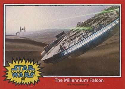 The First Star Wars: The Force Awakens Trading Cards Are Already Here 7